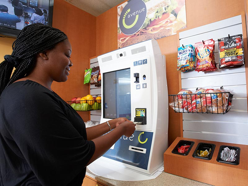 Micro-market self serve kiosk in Oklahoma City
