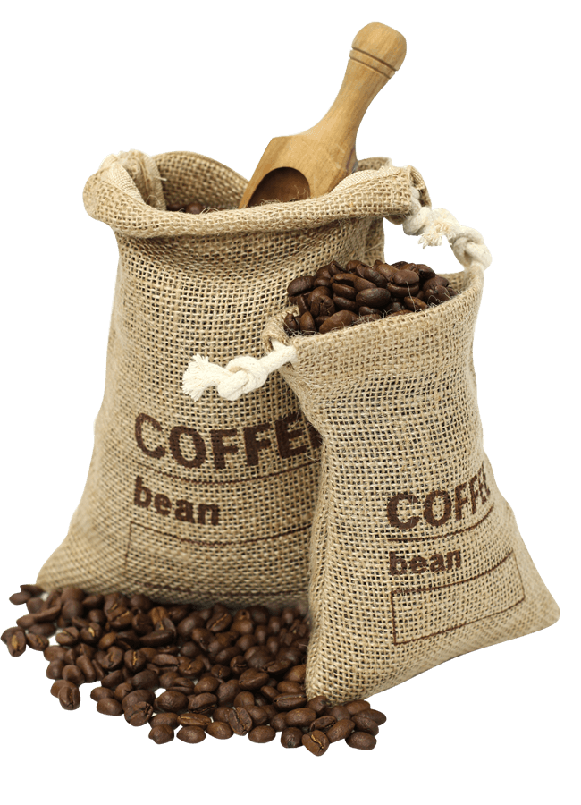 coffee bean bags from Hayes Canteen Refreshment