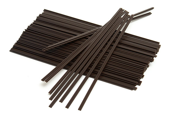 black stir coffee sticks