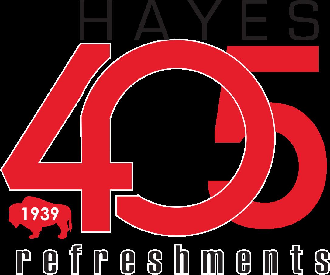 Hayes 405 Refreshments logo